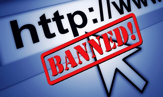 blocked websites graphic