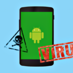 a phone with viruses