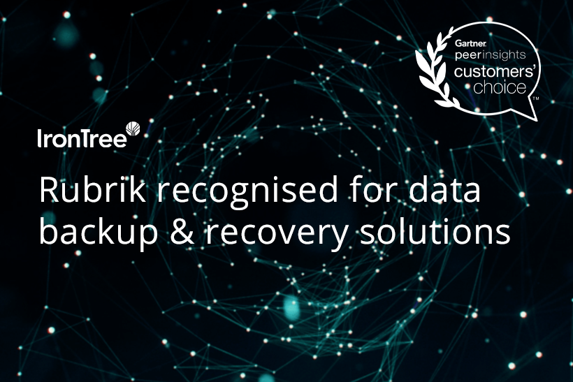rubrik recognised for data backup